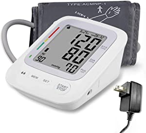 Blood Pressure Monitor Cuffs for Home Use, Upper Arm Digital BP Monitor with Large Cuff 8.66-16.5