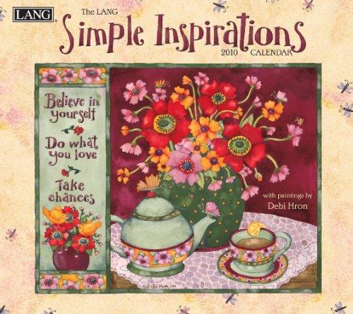 Simple Inspirations 2010 Wall Calendar ()