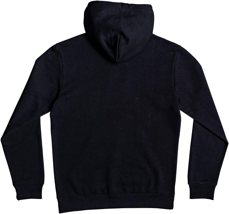 Quiksilver Herren Sportsweatshirt Big Log SN Hood M OTLR Schwarz