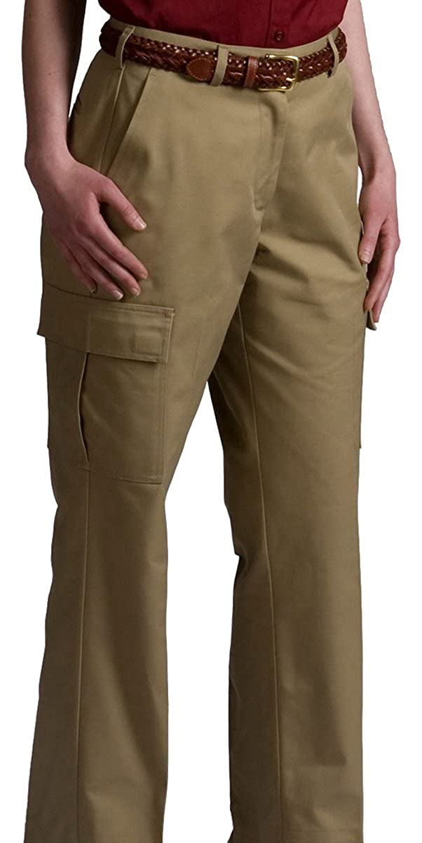 Edwards Garment Women's Two Pockets Chino Blend Cargo Pant 8568