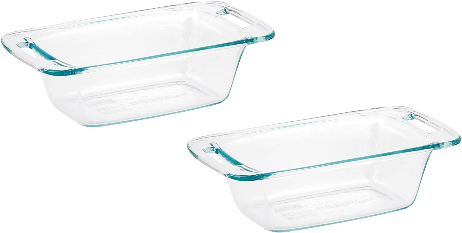 World Kitchen 1085799 Pyrex Easy Grab Loaf Dish Dishes by Pyrex