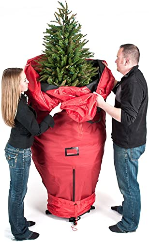 [Red Upright Tree Storage Bag] - 9 Foot