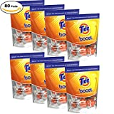 Tide Boost, 10 Pods - Pack of 8 (80 pods total)
