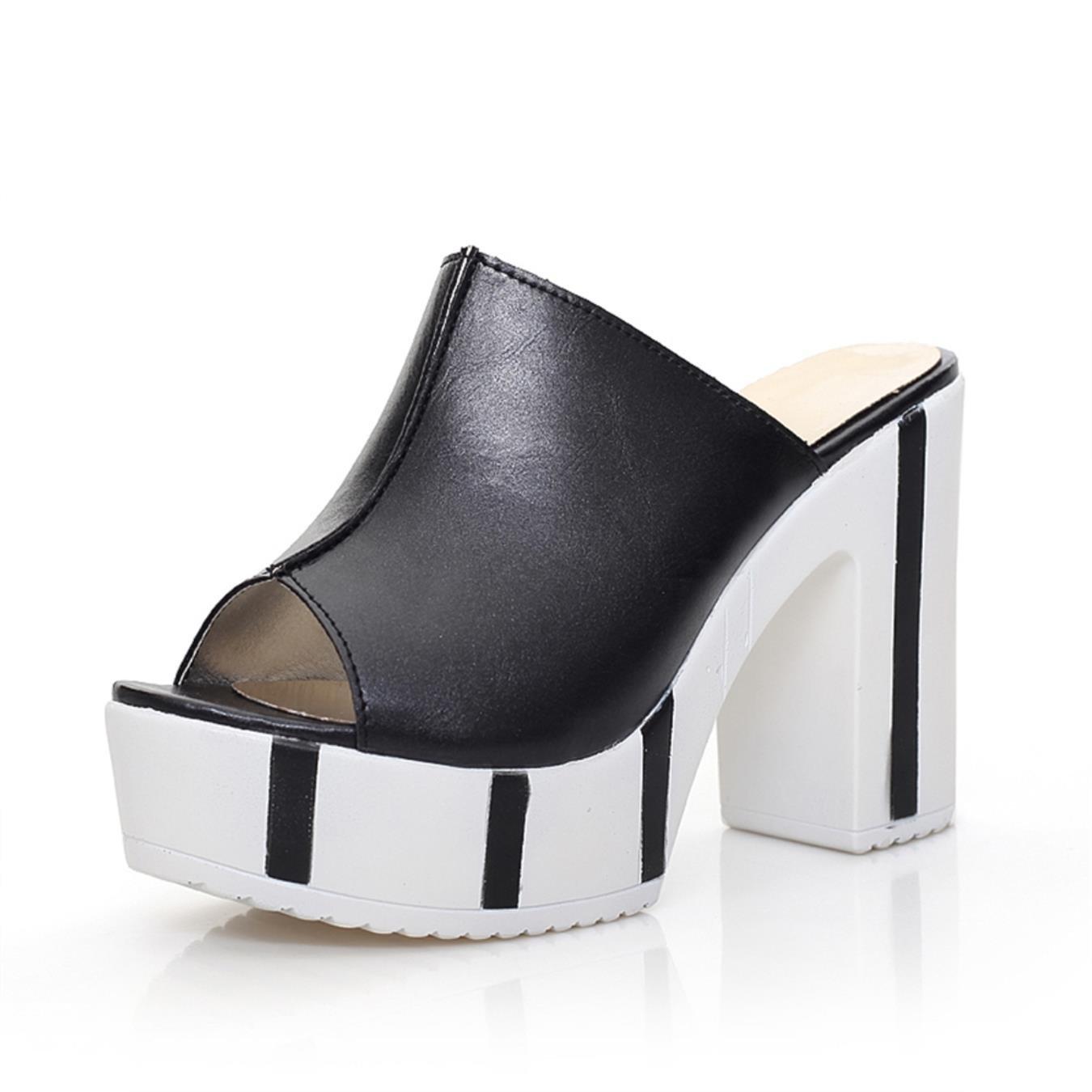Design Mixed Colors Fashion Platform Women Shoes Summer Shoes