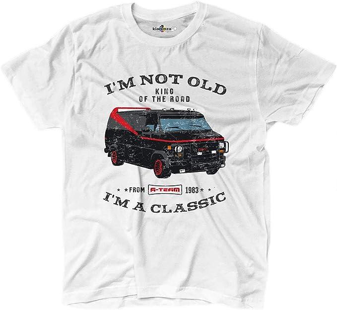 KiarenzaFD Camiseta Clásico Coche Rey de la Carretera Auto Equipo Grunge: Amazon.es: Deportes y aire libre