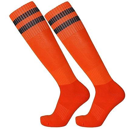 Calcetines Deportivos, Largo De Tubo De Toalla Toallas para Adulto,Rojo