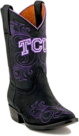 watch biggest discount look out for Amazon.com: Gameday Boots NCAA TCU Horned Frogs Girls, Black, 9.5 ...