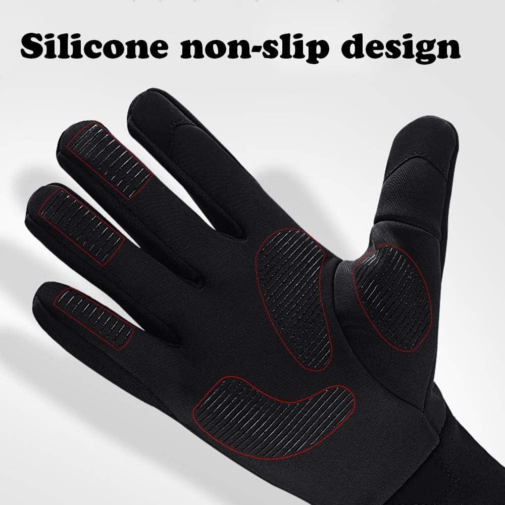 Winter Warm Touch Screen Gloves Outdoor Sports Waterproof Windproof Gloves Men Women