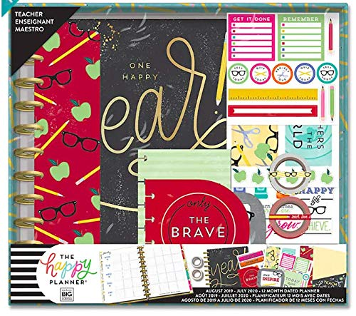 Big Teacher Happy Planner Box Kit - 12 Month (2019-2020), Create 365 Teacher Planner by Create 365 (Image #3)