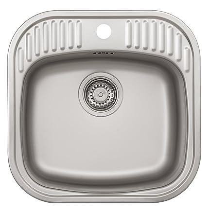 Rieber E 47 72021401 - Lavello a una vasca: Amazon.it: Fai da te