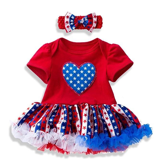 Amazon.com: Conjunto de ropa infantil de 4 de julio con ...