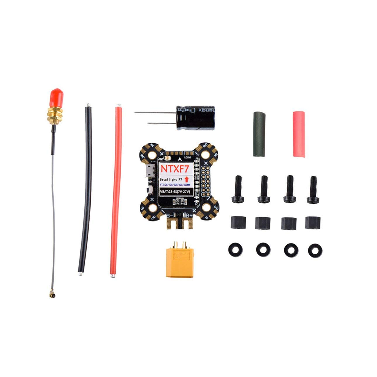 Liobaba F7 Flight Controller Integrated 600mw VTX PDB OSD Barometer Black