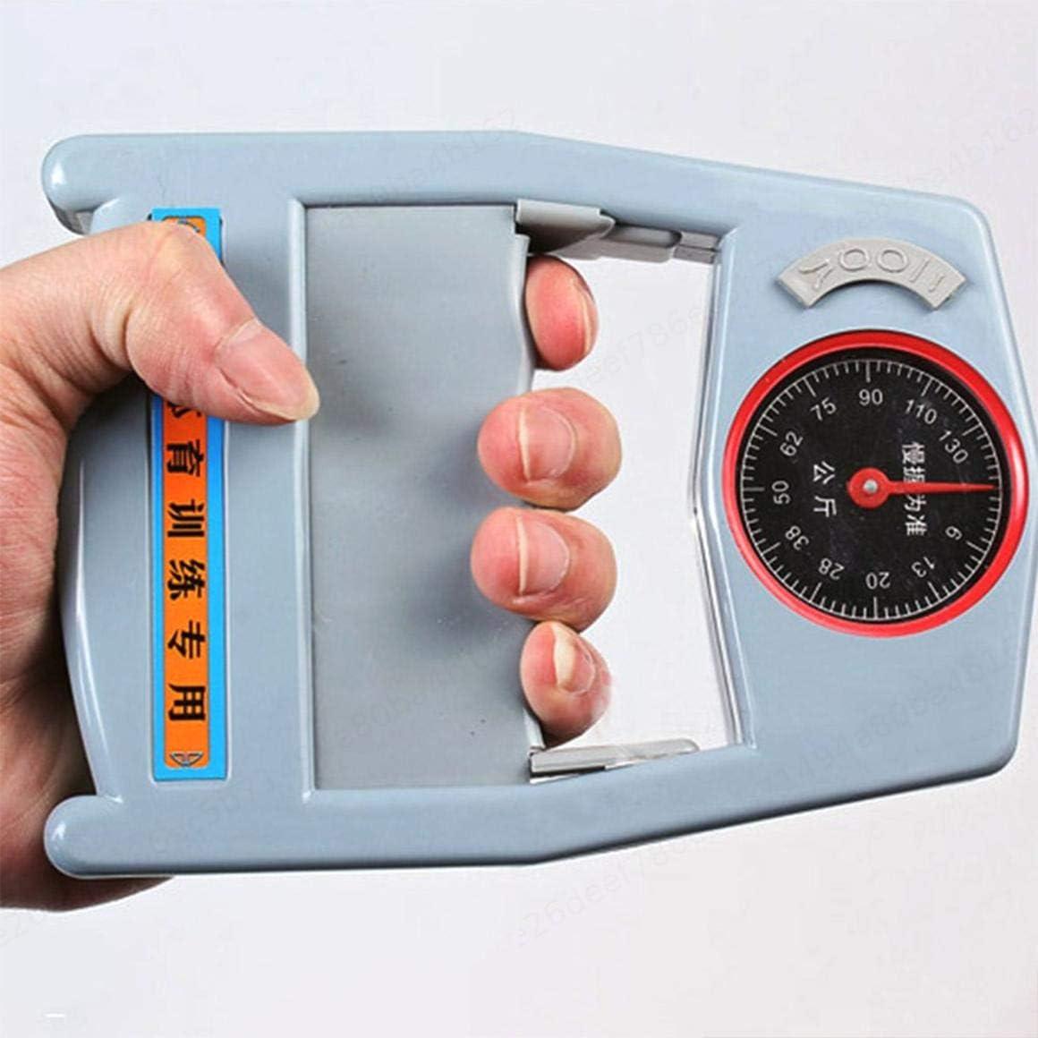 Ejercicio de Aptitud Medidor de Fuerza de Agarre de la Mano Dinam/ómetro de Mano Medidor de Potencia de la Mano ZOZOSEP Medici/ón de la Fuerza de Agarre de la Mano Potencia