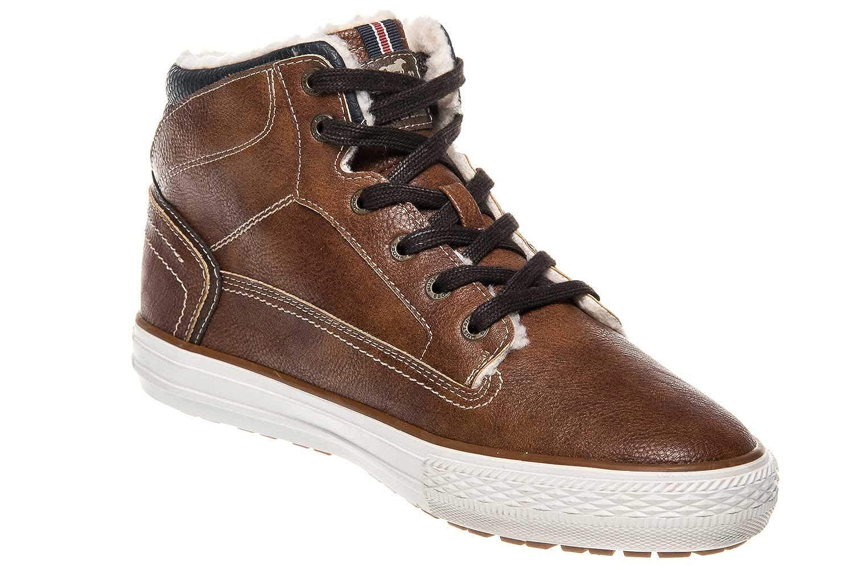 MUSTANG Mens Boots Dark Gray