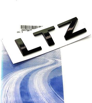 Yoaoo 2x OEM Black LT Letter Nameplate Emblems Badge 2008-2015 Cruze Silverado Yukon Sierra Shiny