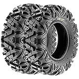 SunF All Trail A/T ATV UTV Tires 28x9-12 28x9x12 6 PR A033 (Set pair of 2)