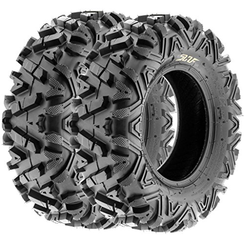 SunF All Trail A/T ATV UTV Tires 28x9-12 28x9x12 6 PR A033 (Set pair of 2) by SunF