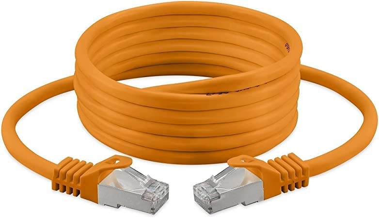 5m Cat 7 Ethernet Cable Cat 7 Network Cable Rj45 10gbps Patchcable Router Modem Patch Panel Access Point Amazon Co Uk Computers Accessories