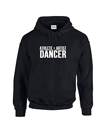 Athlete Plus Artist Equals Dancer Hoodie 77vrbmTh