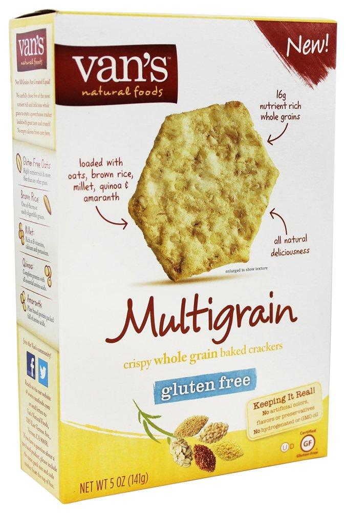 Van's Natural Foods - Gluten-Free Baked Crackers Multigrain - 5 oz (pack of 2)