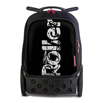 Nikidom Roller XL Blackout, Mochila Escolar Con Carro: Amazon.es: Equipaje