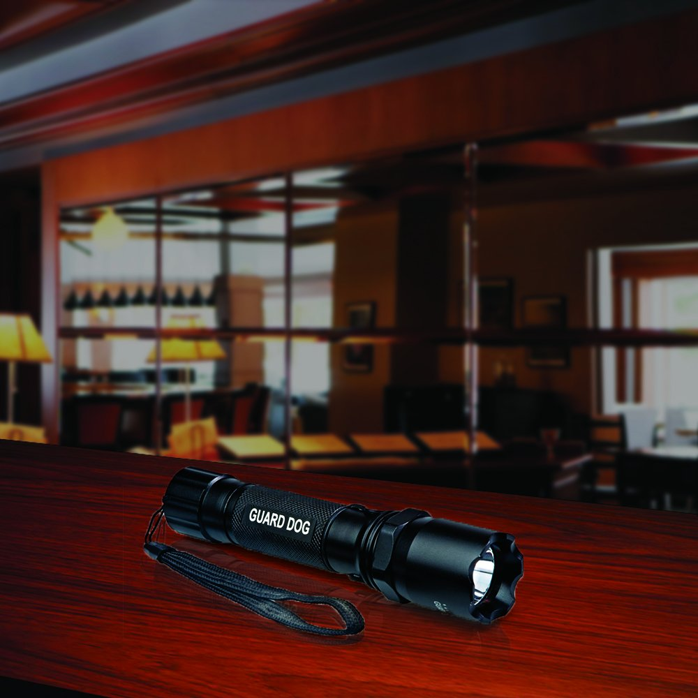 Guard Dog Security 240 Lumen Rechargeable Tactical Flashlight GDTL240