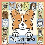Dog Cartoons Coloring Book, Anita Valle, 143829784X