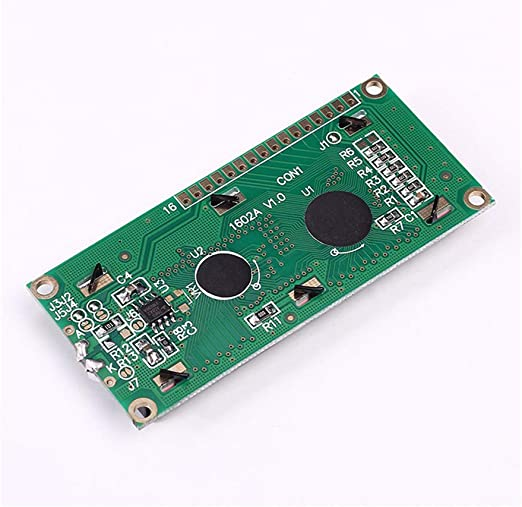 5X LCD1602A 5V Red Character Dot Matrix LCD Display Module 16x2 Black Background
