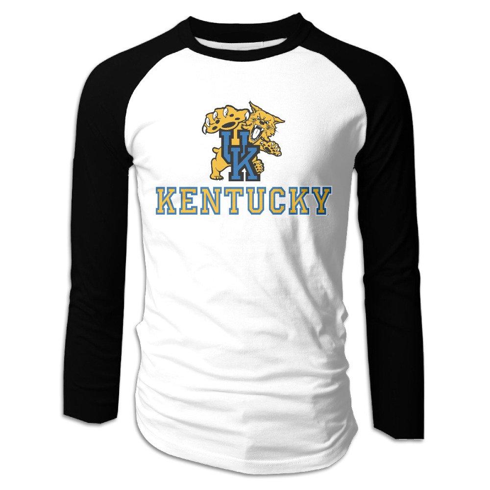 hotgirl4 Hombres Universidad de Kentucky Wildcat Manga Larga ...