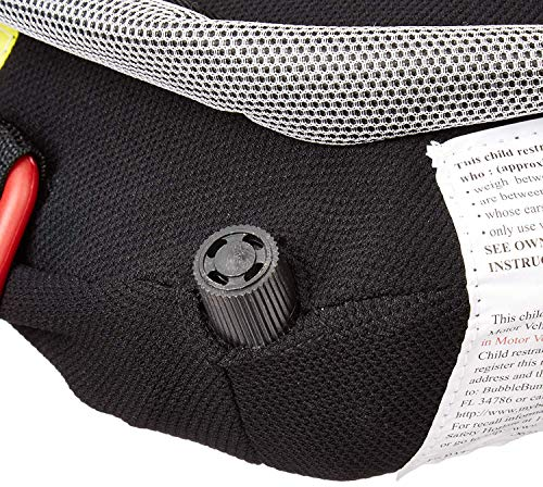 614m5vAnbUL - BubbleBum Inflatable Backless Booster Car Seat, Black