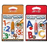 Melissa and Doug Water Wow! ABC and 123 Two Pack Bundle by Water Wow!