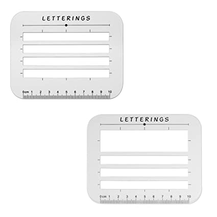Amazon Com Envelope And Address Stencil Ruler Guide And Template