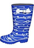Jileon Wide Calf All Weather Durable Rubber Rain Boots for Women-Fits Calf Sizes Up to 18 Inches