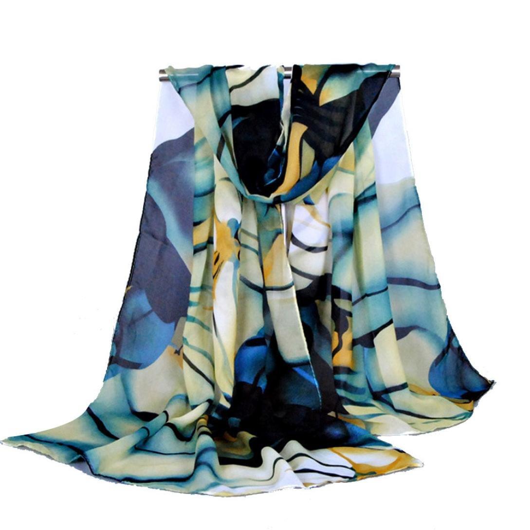 Tenworld Fashion Lady Long Wrap Women's Shawl Chiffon Scarf Scarves Tenworld-scarves