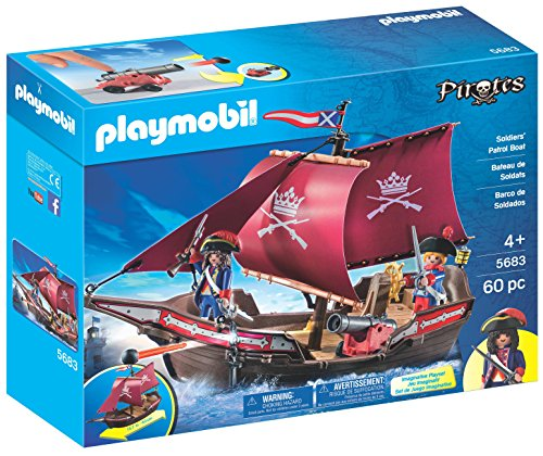 Playmobil Soldiers' Patrol Boat Playset
