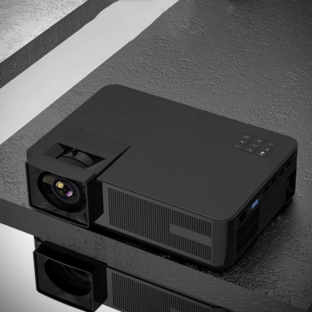 LiChenYao Projector Home HD 1080p Business Office Portable LED Projector Native Resolution-1280800 (Color : Black) by LiChenYao (Image #3)