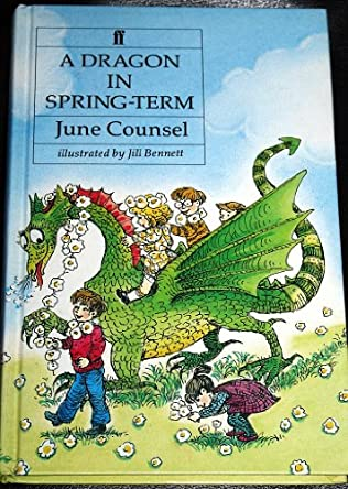 book cover of A Dragon in Spring Term
