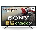 Smart TV LED, Grande, Sony, XBR-65X805G, 65, Preta, em breve Compatível com Alexa