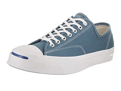486f883ef390 Converse Unisex Jack Purcell Signature Ox Blue Coast White White Casual  Shoe 5 Men