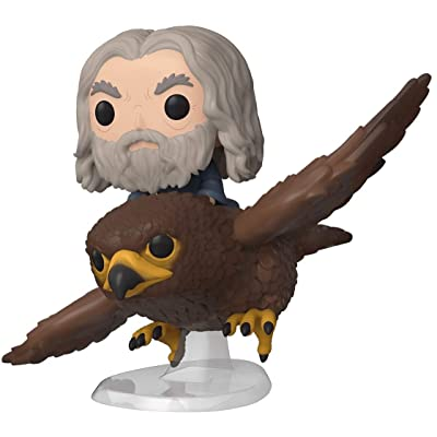 Funko 40869 POP Rides: Lord of The Rings-Gwaihir with Gandalf Hobbit Collectible Figure, Multicolour: Toys & Games