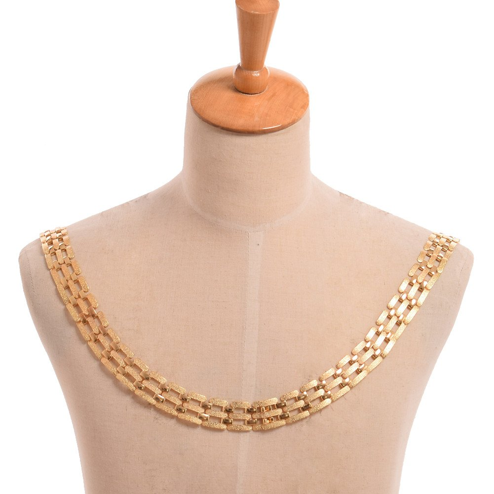 GRACEART Tudors Dynasty Necklace Chain of Office Livery Collar (Golden color)