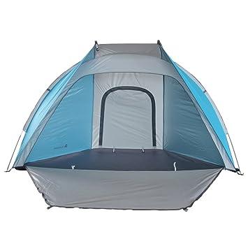 Star Home Lightweight Sun Shelter Easy Up Cabana Beach Tent 2 Person Beach Tent Color Blue  sc 1 st  Amazon.com & Amazon.com: Star Home Lightweight Sun Shelter Easy Up Cabana Beach ...