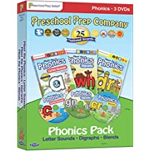 Meet the Phonics - 3 DVD Boxed Set