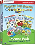 Meet the Phonics - 3 DVD Boxed Set (Meet the Letter Sounds, Meet the Digraphs & Meet the Blends)