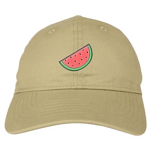 Kings Of NY Watermelon Emoji Meme Chest 6 Panel Dad Hat Cap Beige at ... b057de1ab88