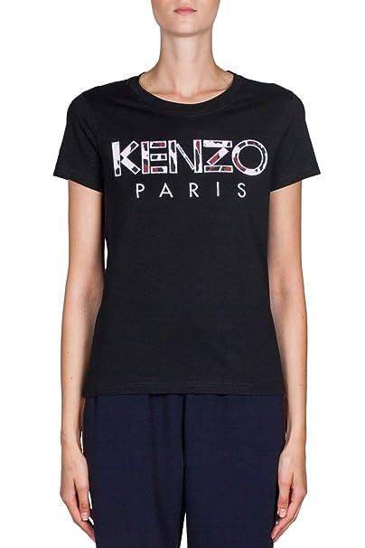 Kenzo Mujer F862ts72199399 Negro Algodon T-Shirt