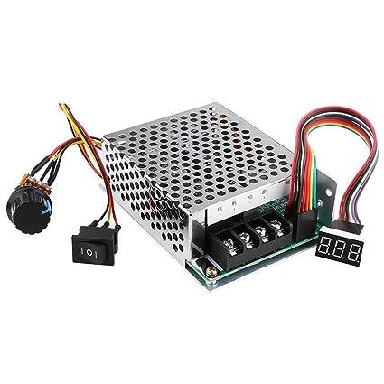 Motor Controller Max 30a Digital Display Dc Motor Controller 9~60v Dc Display 0~100% Adjustable Drive Module 12v 24v 36v 48v Motors & Parts