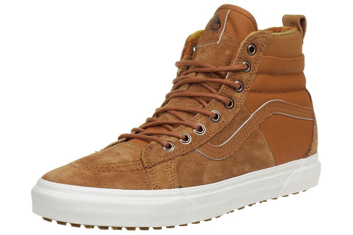 7a714e6d95 Galleon - Vans Unisex SK8-Hi 46 MTE DX Glazed Ginger Flannel Sneaker - 4.5