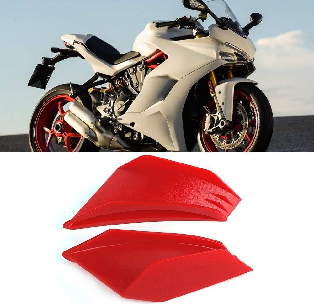 Motorcycle Winglet,1 Pair Universal Motorbike Wing Fairing Wing Aerodynamic Wing Kit Fit For Yamaha Black