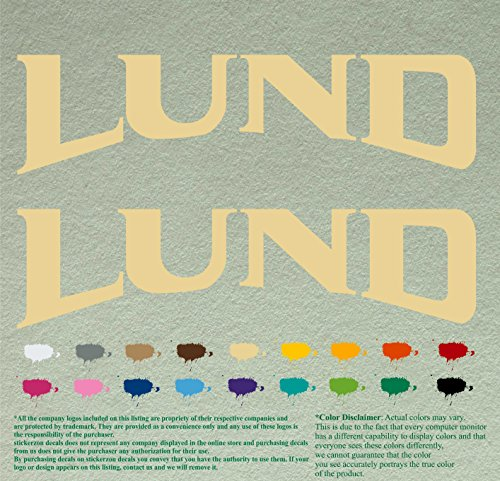 lund boats decal - 1